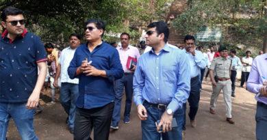 तुरतुरिया-नारायणपुर पर्यटन केन्द्र के रूप विकसित होंगे, मुख्य सचिव आर.पी.मण्डल ने किया स्थल निरीक्षण